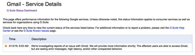 Gmail, Drive, Youtube và nhiều dịch vụ khác của Google gặp sự cố - Ảnh 4.
