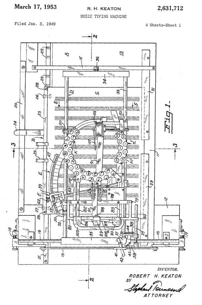 Có thể bạn chưa biết: Đây là máy đánh nốt nhạc từ những năm 1950s - Ảnh 6.