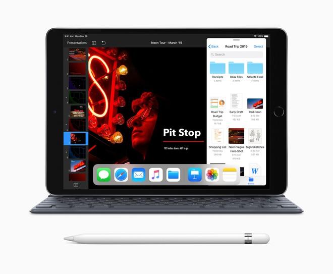 Apple ra mắt iPad Air 10.5 inch mới: Chip A12 Bionic như iPhone XS, hỗ trợ Apple Pencil, giá từ 499 USD - Ảnh 3.