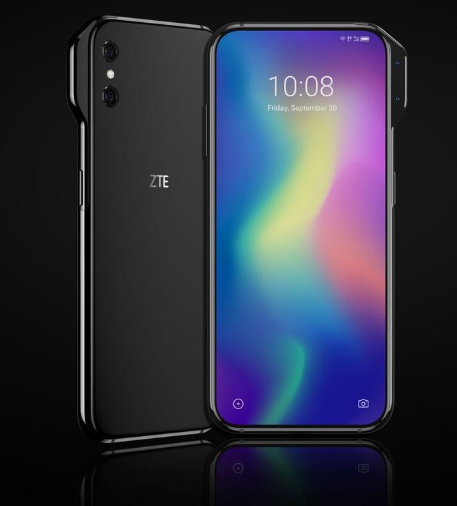 Quên camera thò thụt đi, ZTE Axon V còn độc đáo hơn với camera selfie nhô ra khỏi cạnh phải - Ảnh 2.