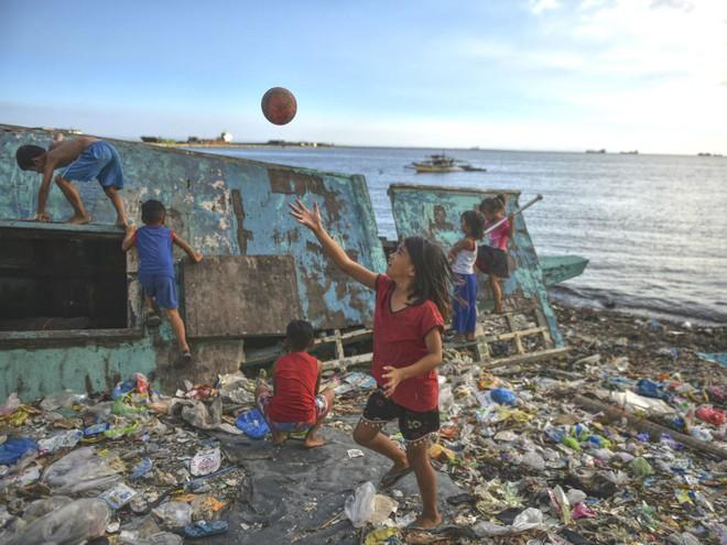 Giới khoa học bàng hoàng phát hiện đến 40kg rác nhựa trong bụng cá voi con dạt vào bờ biển Philippines - Ảnh 2.