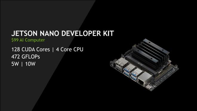 NVIDIA tung ra máy tính AI mới có tên Jetson Nano, giá chỉ 99 USD, nhanh hơn và mạnh hơn Raspberry Pi - Ảnh 1.