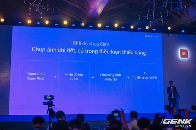 Trên tay Redmi Note 7 chính thức tại Việt Nam: camera 48MP, màn hình giọt mưa, giá từ 4 triệu đồng - Ảnh 10.