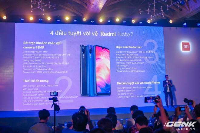 Trên tay Redmi Note 7 chính thức tại Việt Nam: camera 48MP, màn hình giọt mưa, giá từ 4 triệu đồng - Ảnh 14.