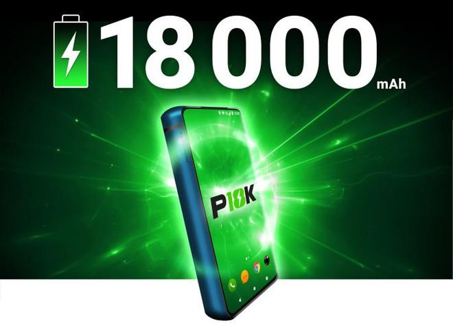 Smartphone pin 18.000 mAh Energizer P18K Pop được gây quỹ trên IndieGogo, giá 550 USD - Ảnh 1.