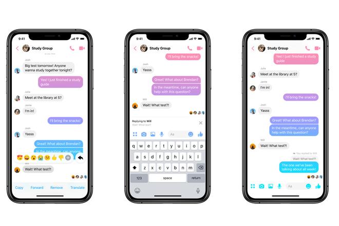 Với tính năng mới của Facebook Messenger, chat nhảm trong group cũng không lo bị lỡ việc - Ảnh 1.