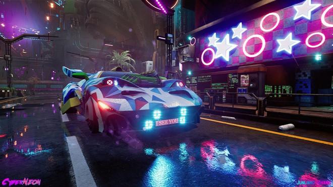 Dùng Unreal Engine, developer tự mình tạo ra thành phố Trung Quốc đậm chất cyberpunk trong 1,5 năm - Ảnh 4.