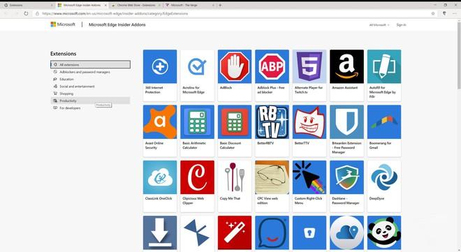 Đây là trình duyệt Microsoft Edge mới dựa trên nền Chromium: Giao diện giống Chrome, cài được extension của Chrome - Ảnh 7.