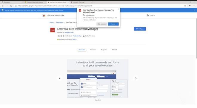Đây là trình duyệt Microsoft Edge mới dựa trên nền Chromium: Giao diện giống Chrome, cài được extension của Chrome - Ảnh 9.