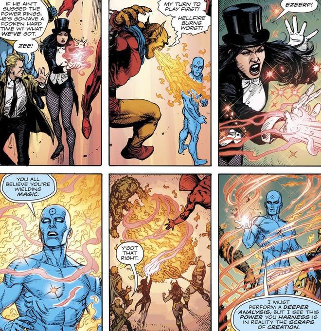 Dr. Manhattan, nhân vật mạnh nhất nhì DC hé lộ sự thật bất ngờ đằng sau sức mạnh của Ma thuật - Ảnh 2.