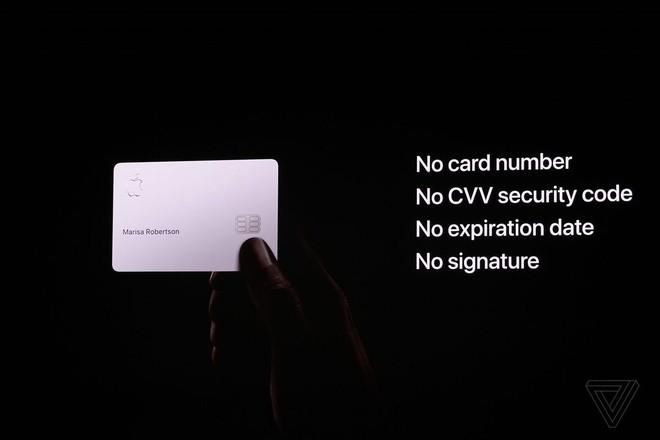 Apple ra mắt thẻ tín dụng của riêng mình, không có dãy số tài khoản, không có mã CVV - Ảnh 4.