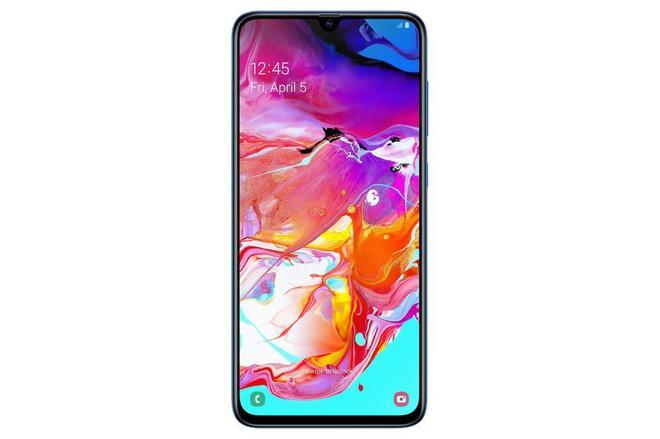 Samsung Galaxy A70 hoàn toàn lộ diện: Thiết kế Infinity-U, màn hình AMOLED 6,7 inch, cảm biến vân tay dưới màn hình, 3 camera sau và pin 4.500 mAh - Ảnh 2.