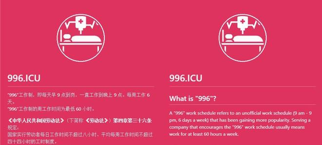 Hàng chục nghìn coder dùng GitHub để phản đối luật ngầm giới lao động 996 ở Trung Quốc - Ảnh 1.