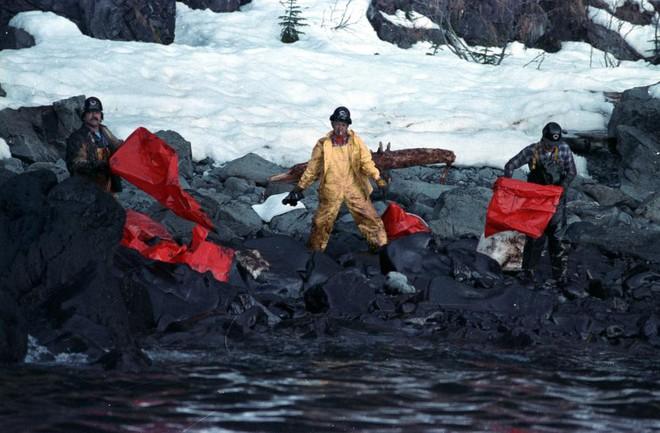 Sau 30 năm, những bức ảnh từ thảm họa tràn dầu Exxon Valdez vẫn còn gây ám ảnh - Ảnh 15.