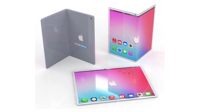 iPad màn hình gập trong tương lai có thể sẽ trông như thế này - Ảnh 1.