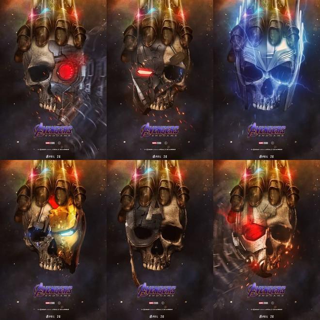 Tự vẽ poster siêu tỉ mỉ cho Avengers: Endgame, designer Thổ Nhĩ Kỳ khiến fan Marvel trầm trồ thán phục - Ảnh 1.