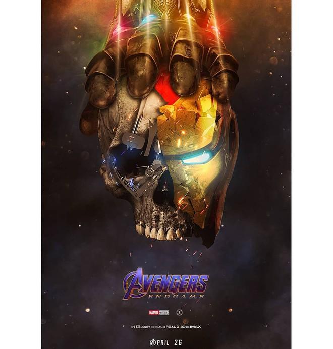 Tự vẽ poster siêu tỉ mỉ cho Avengers: Endgame, designer Thổ Nhĩ Kỳ khiến fan Marvel trầm trồ thán phục - Ảnh 2.
