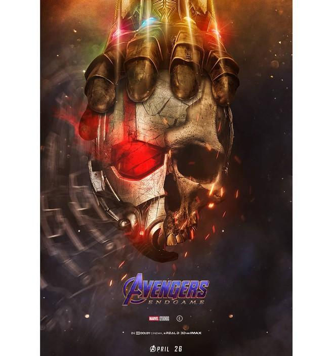 Tự vẽ poster siêu tỉ mỉ cho Avengers: Endgame, designer Thổ Nhĩ Kỳ khiến fan Marvel trầm trồ thán phục - Ảnh 4.