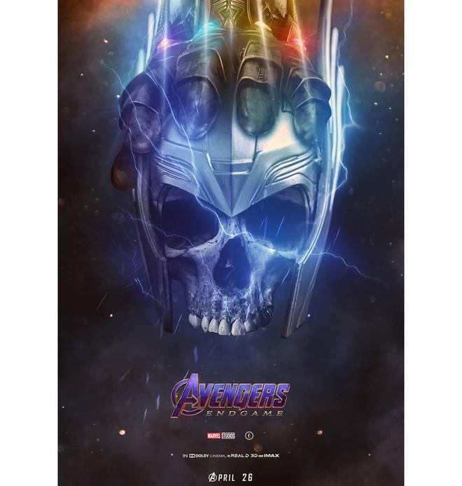 Tự vẽ poster siêu tỉ mỉ cho Avengers: Endgame, designer Thổ Nhĩ Kỳ khiến fan Marvel trầm trồ thán phục - Ảnh 5.