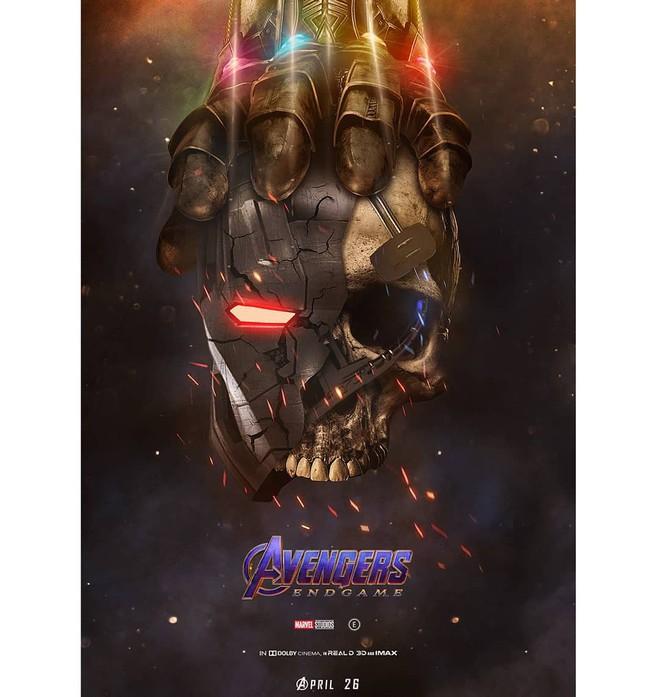 Tự vẽ poster siêu tỉ mỉ cho Avengers: Endgame, designer Thổ Nhĩ Kỳ khiến fan Marvel trầm trồ thán phục - Ảnh 6.