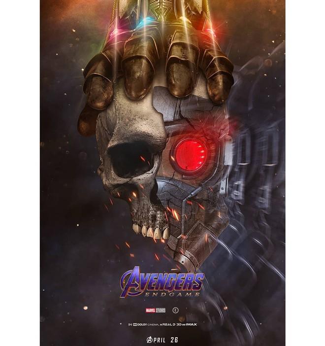 Tự vẽ poster siêu tỉ mỉ cho Avengers: Endgame, designer Thổ Nhĩ Kỳ khiến fan Marvel trầm trồ thán phục - Ảnh 7.