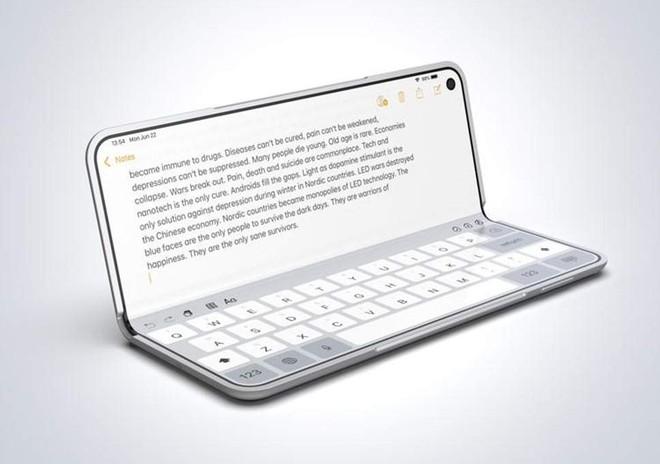 iPad màn hình gập trong tương lai có thể sẽ trông như thế này - Ảnh 2.