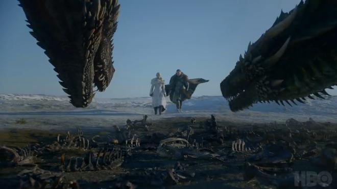 [Việt hóa] Trailer Game of Thrones mùa cuối chính thức lên sóng: Quân đoàn bóng trắng gõ cửa Winterfell - Ảnh 2.