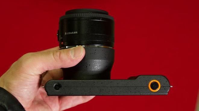 Yongnuo YN450 - máy ảnh không gương lật, sử dụng ống kính Canon, chạy Android - Ảnh 8.