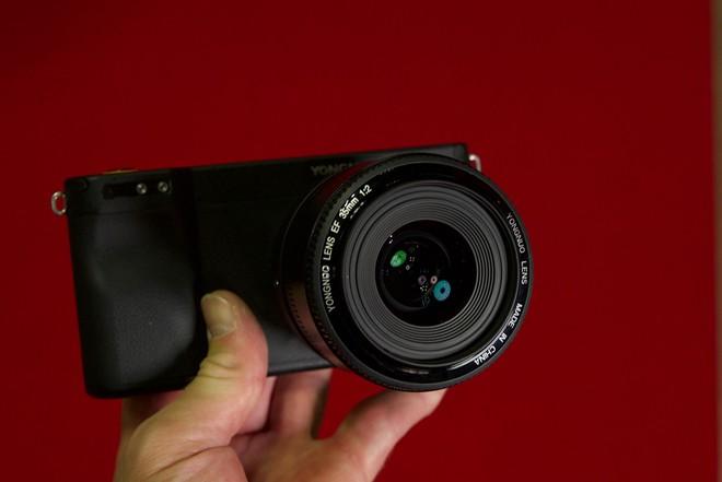 Yongnuo YN450 - máy ảnh không gương lật, sử dụng ống kính Canon, chạy Android - Ảnh 3.