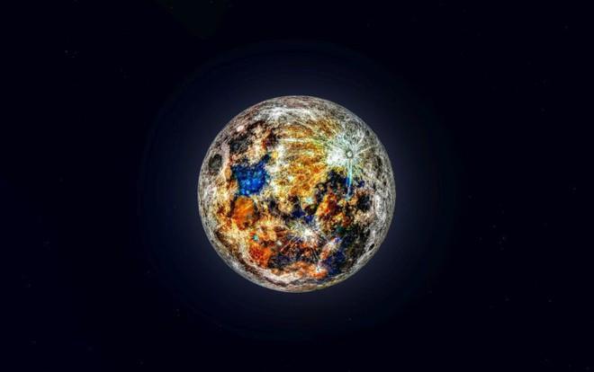 Ảnh chụp Mặt trăng đầy rực rỡ này là thành quả của việc ghép 150.000 bức hình lại với nhau - Ảnh 1.