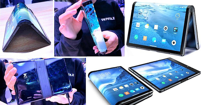 Startup Trung Quốc này đã qua mặt điện thoại màn hình gập của Samsung và Huawei như thế nào - Ảnh 1.