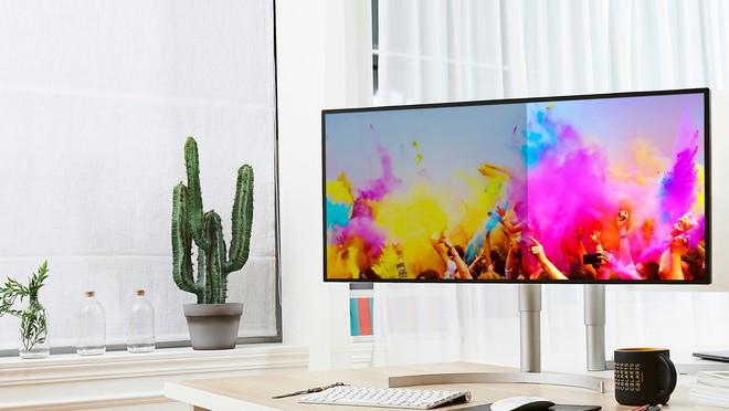 LG ra mắt các mẫu màn hình máy tính cao cấp mới trong năm 2019: màn siêu rộng, hướng tới game thủ và dân thiết kế - Ảnh 1.