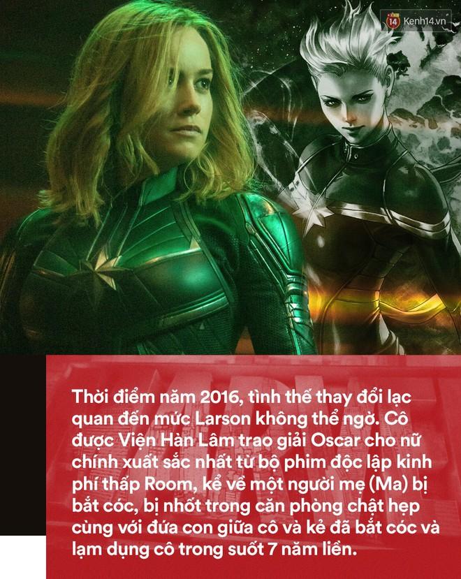 Brie Larson Captain Marvel: 20 năm diễn xuất làng nhàng, sống túng thiếu và thiếu tự tin đến nỗi suýt muốn bỏ nghề - Ảnh 2.