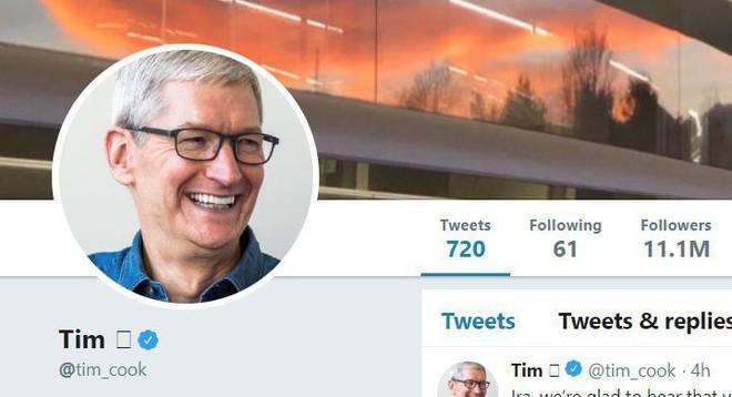 CEO Apple Tim Cook đổi tên Twitter thành Tim Apple sau khi bị Tổng thống Mỹ Donald Trump gọi nhầm - Ảnh 4.