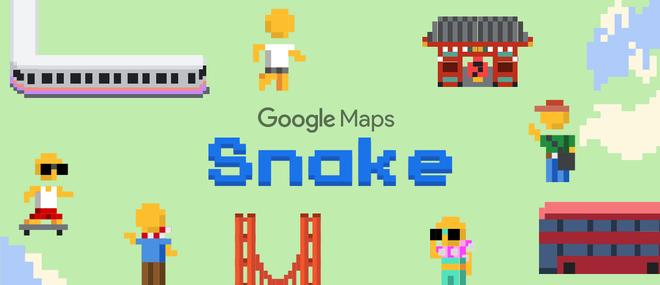 Mở ngay Google Maps lên để chơi Rắn săn mồi đi, quà Google tặng nhân dịp Cá tháng Tư - Ảnh 1.