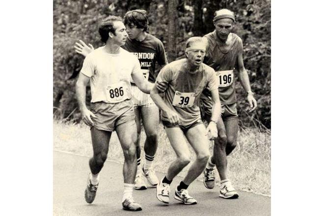 Nổi tiếng yêu thể thao, các đời Tổng thống Mỹ thích đeo sneakers gì khi đi chạy? - Ảnh 1.
