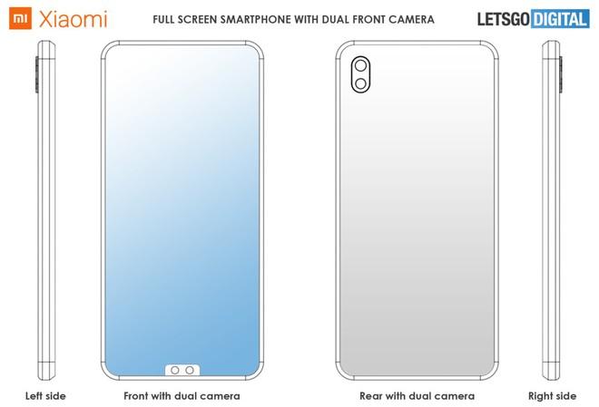 Khó vậy cũng nghĩ ra được: Xiaomi đăng ký bằng sáng chế cho tai thỏ nằm phía dưới màn hình - Ảnh 1.