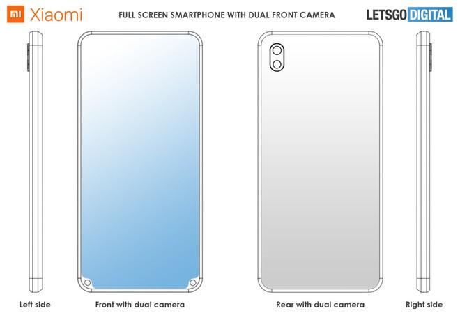 Khó vậy cũng nghĩ ra được: Xiaomi đăng ký bằng sáng chế cho tai thỏ nằm phía dưới màn hình - Ảnh 2.