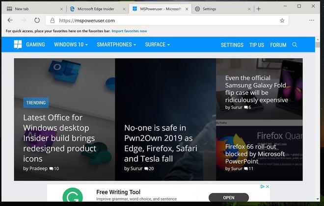 Trình duyệt Edge mới đã khiến tôi gỡ bỏ Chrome lần đầu tiên trong cả một thập kỷ - Ảnh 2.