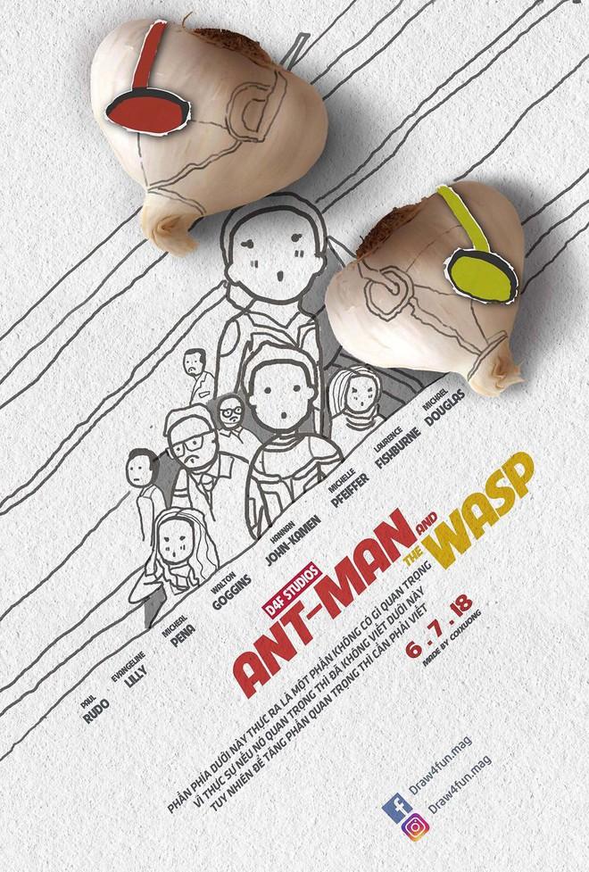 Họa sĩ Việt tiếp tục gây bất ngờ khi tái tạo toàn bộ poster phim Marvel từ dầu gió, cao sao vàng, diêm Thống Nhất - Ảnh 20.