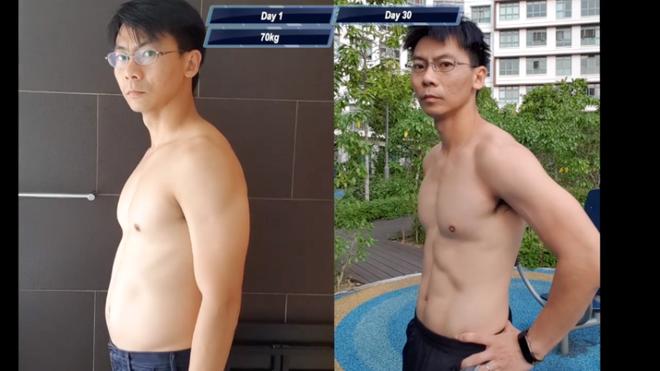 Người đàn ông trung niên quyết tâm tập luyện giống Saitama và cái kết 6 múi - Ảnh 1.