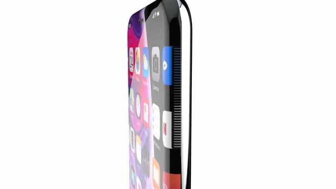 Ngắm concept iPhone XII với màn hình tràn cạnh không viền, không phím vật lý, camera ẩn dưới màn hình - Ảnh 1.