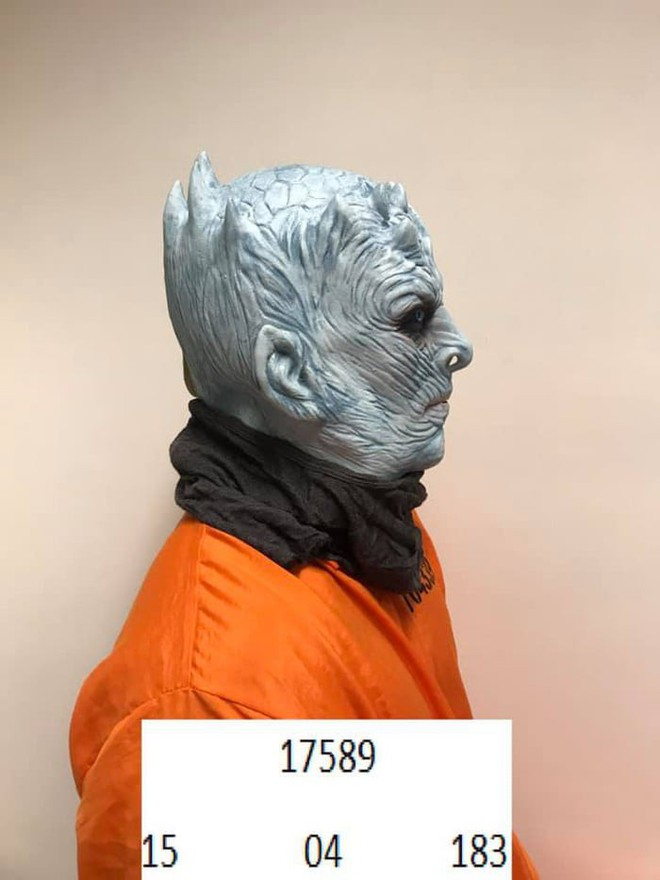 Chưa kịp lộ mặt trong tập 1 mùa cuối, Night King đã bị cảnh sát bắt vì phá hoại của công - Ảnh 2.