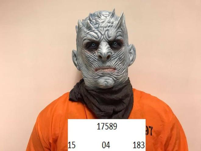 Chưa kịp lộ mặt trong tập 1 mùa cuối, Night King đã bị cảnh sát bắt vì phá hoại của công - Ảnh 3.