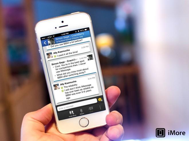 BlackBerry Messenger (BBM) sẽ chính thức ngừng hoạt động từ ngày 31/5 - Ảnh 2.