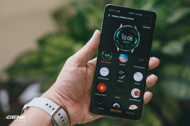 Đánh giá đồng hồ Samsung Galaxy Watch Active: thiết kế tối giản là điểm cộng, hợp với người yêu thể thao - Ảnh 16.