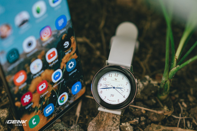 Đánh giá đồng hồ Samsung Galaxy Watch Active: thiết kế tối giản là điểm cộng, hợp với người yêu thể thao - Ảnh 6.