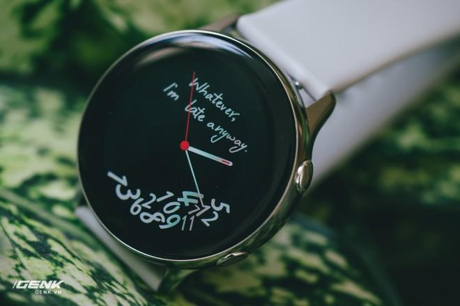 Đánh giá đồng hồ Samsung Galaxy Watch Active: thiết kế tối giản là điểm cộng, hợp với người yêu thể thao - Ảnh 7.
