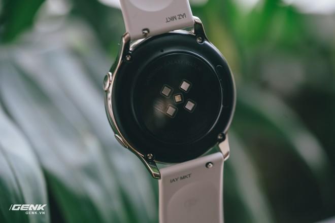 Đánh giá đồng hồ Samsung Galaxy Watch Active: thiết kế tối giản là điểm cộng, hợp với người yêu thể thao - Ảnh 11.