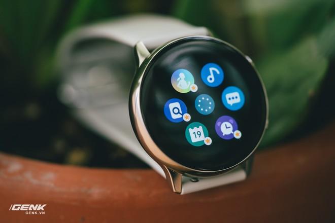 Đánh giá đồng hồ Samsung Galaxy Watch Active: thiết kế tối giản là điểm cộng, hợp với người yêu thể thao - Ảnh 20.
